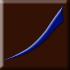 brązowy, matowy z niebieskim dekorem (E)